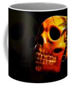Phantom Skull Coffee Mug by Shane Bechler