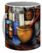 Pharmacist - Mortar And Pestle Coffee Mug by Mike Savad
