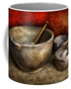Pharmacist - Pestle And Son  Coffee Mug by Mike Savad