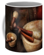 Pharmacy - Back To The Grind Coffee Mug by Mike Savad