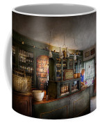 Pharmacy - Morning Preparations Coffee Mug by Mike Savad