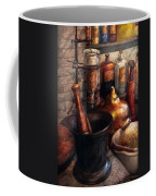 Pharmacy - Pestle - Pharmacology Coffee Mug by Mike Savad