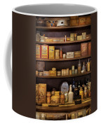Pharmacy - Quick I Need A Miracle Cure Coffee Mug by Mike Savad