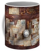 Pharmacy - Signs Of The Time  Coffee Mug by Mike Savad