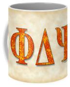Phi Delta Psi - Parchment Coffee Mug
