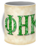 Phi Eta Kappa - Parchment Coffee Mug