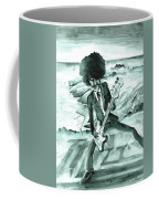 Phil Lynott In Howth Coffee Mug