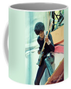 Phil Lynott Of Thin Lizzy - Black Rose Tour Day On The Green 7-4-79  Coffee Mug