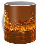 Philadelphia Across The Delaware Coffee Mug