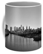 Philadelphia Black And White Coffee Mug