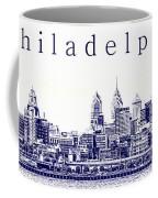 Philadelphia Blueprint  Coffee Mug