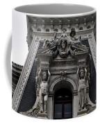 Philadelphia City Hall Dormer Window Coffee Mug by Bill Cannon