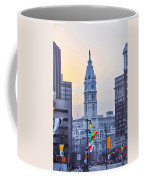 Philadelphia Cityhall In The Morning Coffee Mug