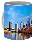 Philadelphia Cityscape Rendering Coffee Mug