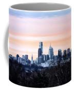 Philadelphia From Belmont Plateau Coffee Mug by Bill Cannon