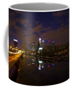 Philadelphia From South Street At Night Coffee Mug by Bill Cannon