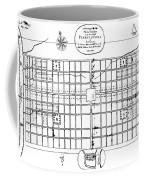 Philadelphia: Map, 1683 Coffee Mug