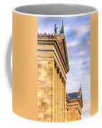Philadelphia Museum Of Art Facade Coffee Mug
