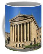 Philadelphia Museum Of Art Rear Facade Coffee Mug