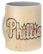 Philadelphia Phillies Poster Art Coffee Mug