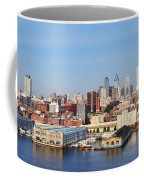 Philadelphia River View Coffee Mug by Bill Cannon