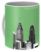 Philadelphia Skyline Liberty Place 2 - Apple Coffee Mug