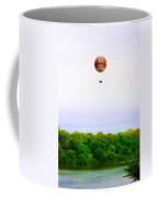 Philadelphia Zoo Balloon Over The Schuylkill River Coffee Mug
