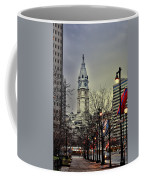 Philadelphia's Iconic City Hall Coffee Mug by Bill Cannon