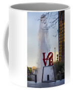 Philadelphia's Love Story Coffee Mug