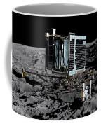 Philae Lander On Comet 67pc-g Coffee Mug