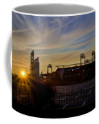 Phillies Citizens Bank Park At Dawn Coffee Mug by Bill Cannon