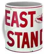 Phillies East Stand Sign - Connie Mack Stadium Coffee Mug