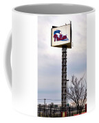 Phillies Stadium Sign Coffee Mug by Bill Cannon