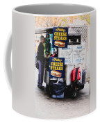 Philly Cheese Steak Cart Coffee Mug