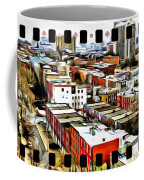 Philly Filmstrip Coffee Mug by Alice Gipson