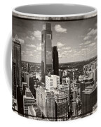 Philly In The Clouds Coffee Mug