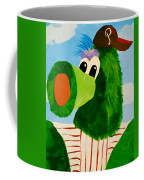 Philly Phanatic Coffee Mug by Trish Tritz