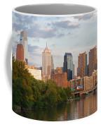 Philly Summer Skyline Coffee Mug