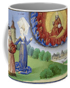 Philosophy Instructs Boethius On God Coffee Mug by Getty Research Institute