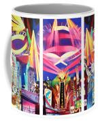Phish New York For New Years Triptych Coffee Mug