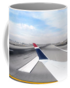 Phoenix Az Airport Wing Tip View Coffee Mug