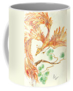 Phoenix In Flight Coffee Mug