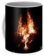 Phoenix Se Levant Des Flammes Coffee Mug