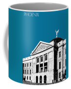 Phoenix Skyline Arizona Capital Building - Steel Blue Coffee Mug