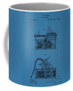 Phonograph Blueprint Patent Drawing Coffee Mug