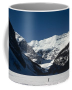 Photog On Lake Louise Coffee Mug