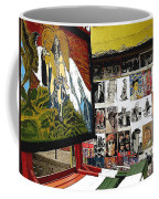 Photographer's Stand Us-mexico Border Town Nogales Sonora Mexico 2003 Coffee Mug