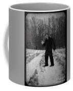 Photographic Evidence Of Big Foot Coffee Mug by Edward Fielding