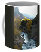 Photographing Zion National Park Coffee Mug