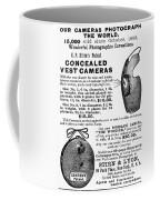 Photography Camera, 1889 Coffee Mug
